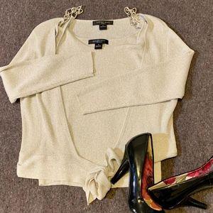 August Silk Knit Womens Top